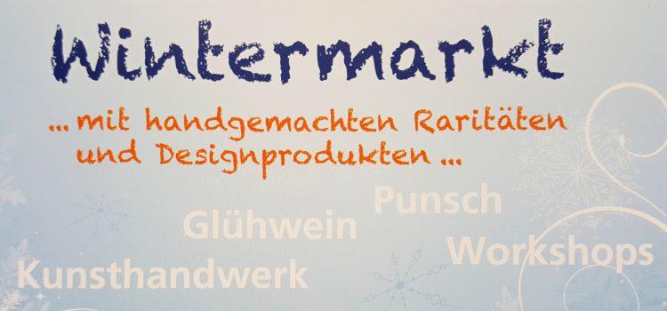 Wintermarkt mit Kunsthandwerk am 27.01.2018