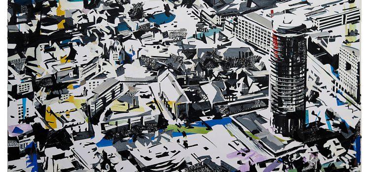 """Ausstellung """"Stadt"""" von Tino Geiss"""
